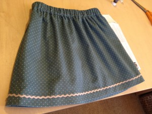 Gorgeous baby cord skirt